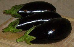 Eggplants for Moussaka