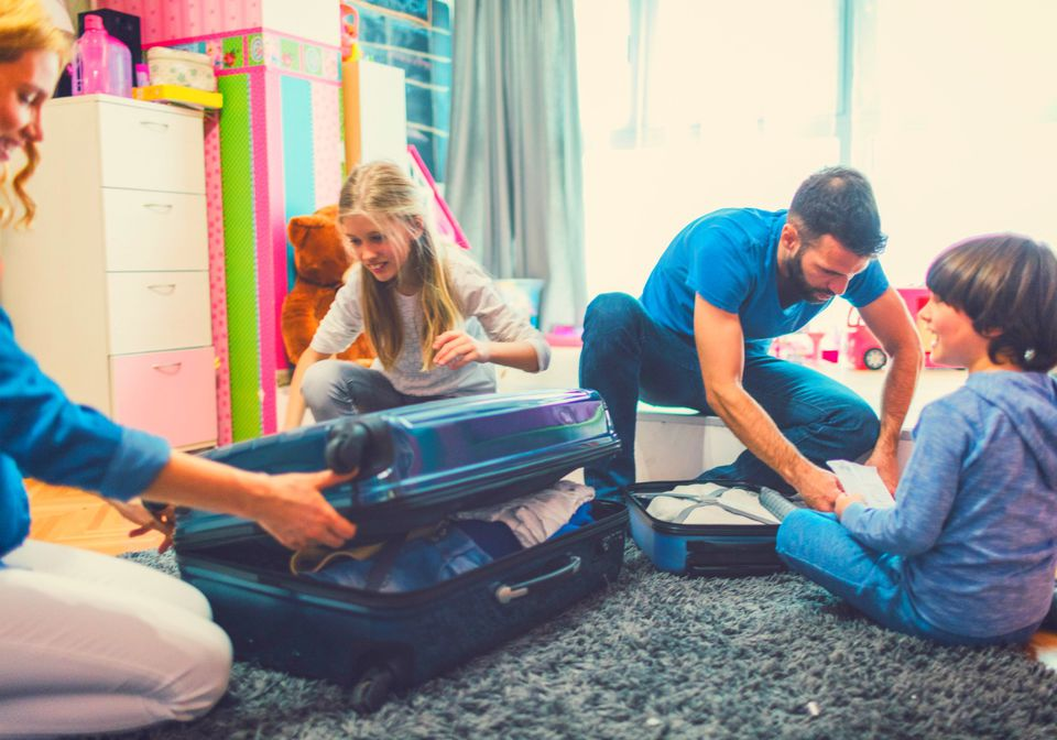 Packing Lists for a Family Vacation