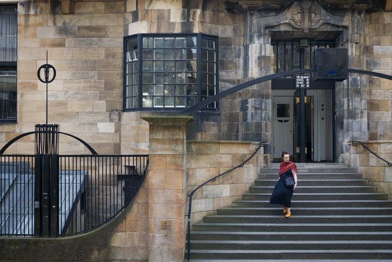 Mackintosh-Designed Glasgow School of Art, Glasgow, Scotland