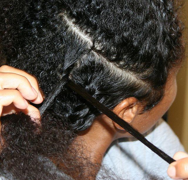 A Step By Step Tutorial To Twist Black Hair