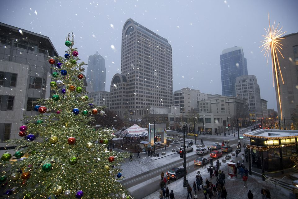 Seattle at Christmas