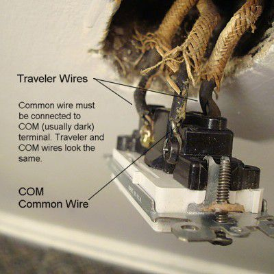 3-way switch common wire