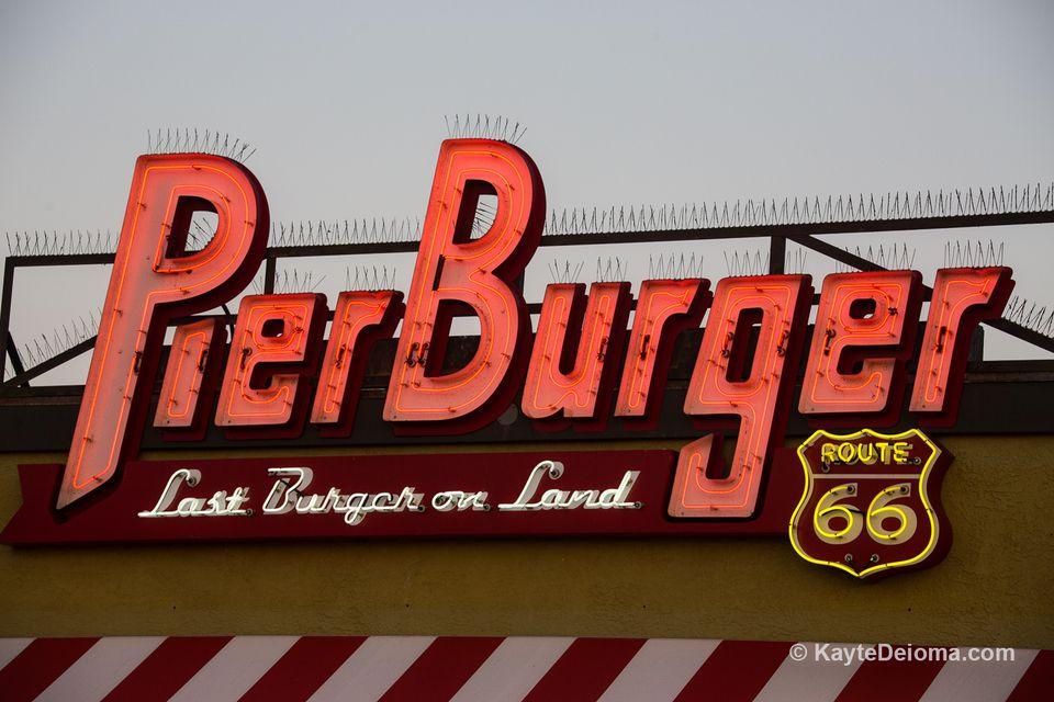 Pier Burger at Santa Monica Pier