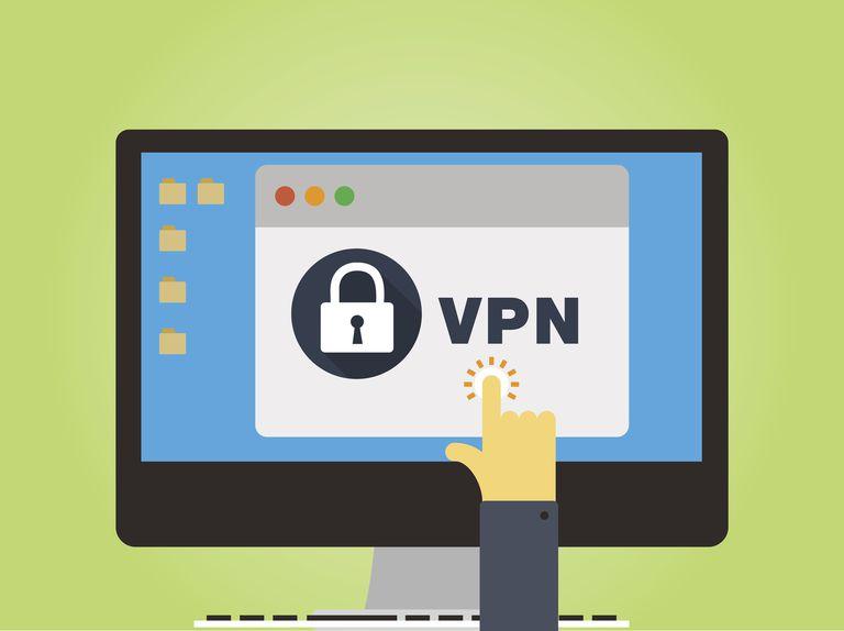 VPN Login Concept