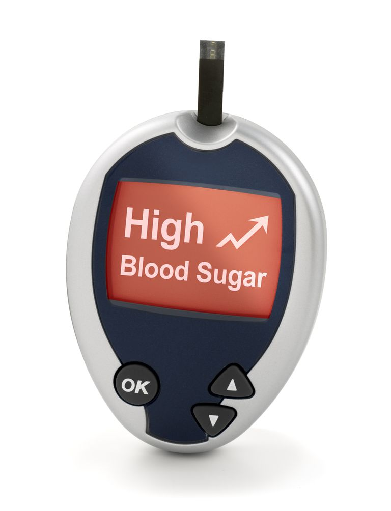 High Blood Sugar on Glucose Meter