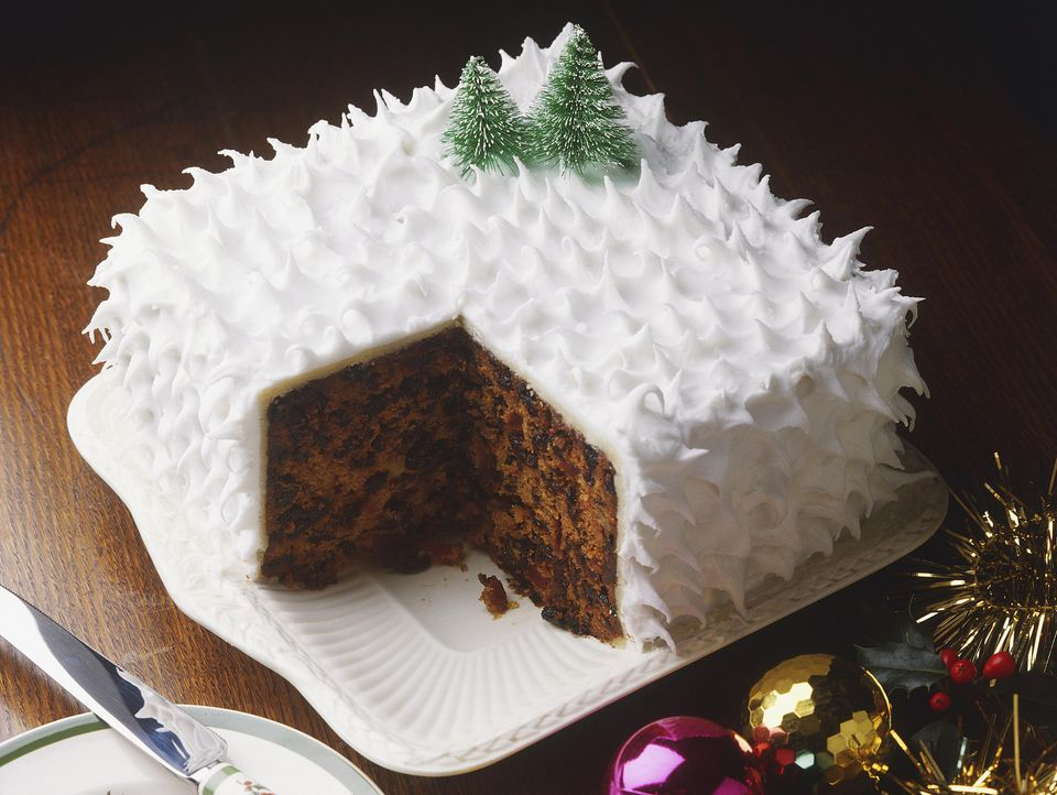 Traditional british christmas cake recipe for Iced christmas cakes