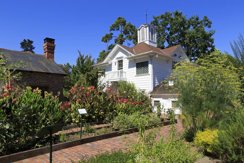 Luther Burbank House in Santa Rosa