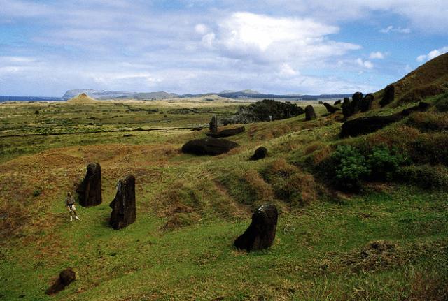 Rano Raraku Quarry on Easter Island