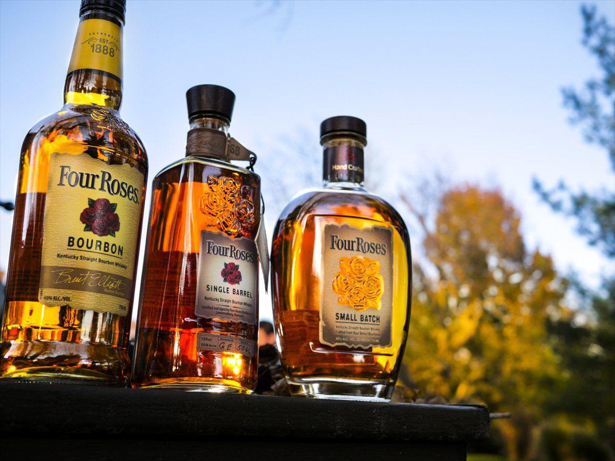 four roses bourbon whiskey liquor review