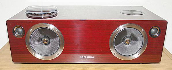 Samsung DA-E750 Vacuum Tube Audio Dock - Photo - Front View