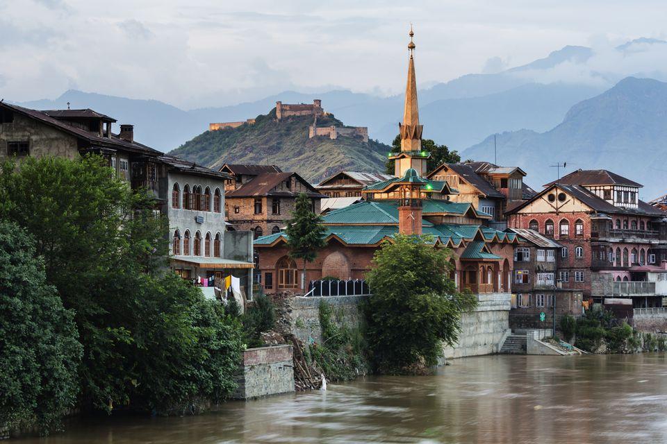 Srinagar, Old City.