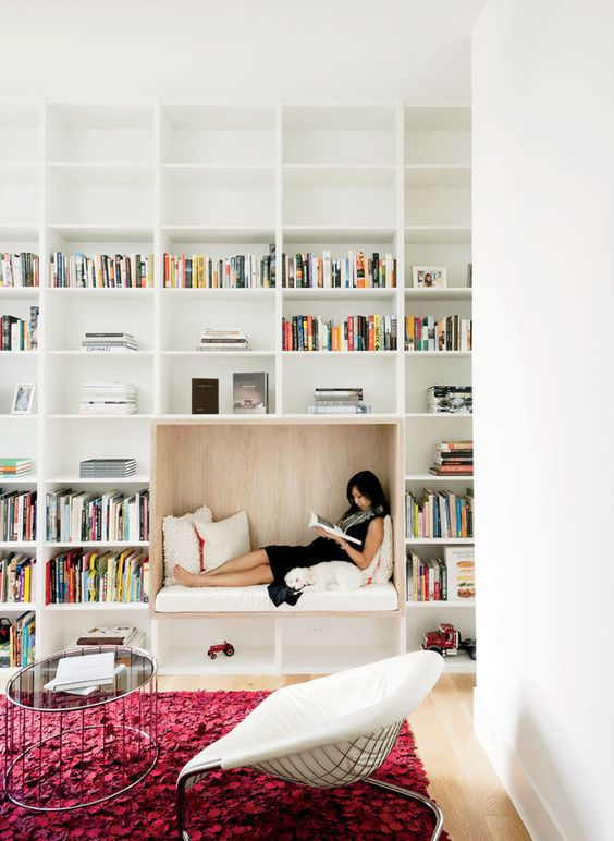 Contemporary Home Library Design: 25 Stunning Home Library Design Ideas