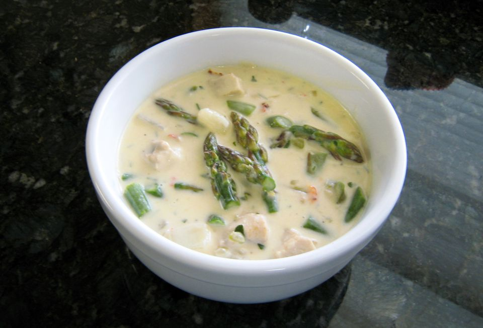 Chicken and Asparagus Chowder