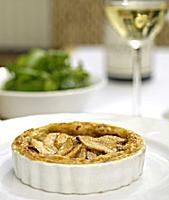 Wensleydale Blue Cheese and Pear Tart