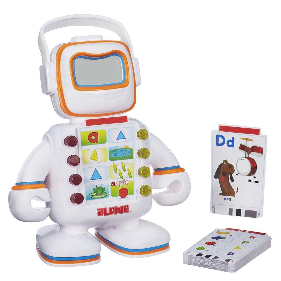 Alphie Robot is great fun for preschool grandchildren.
