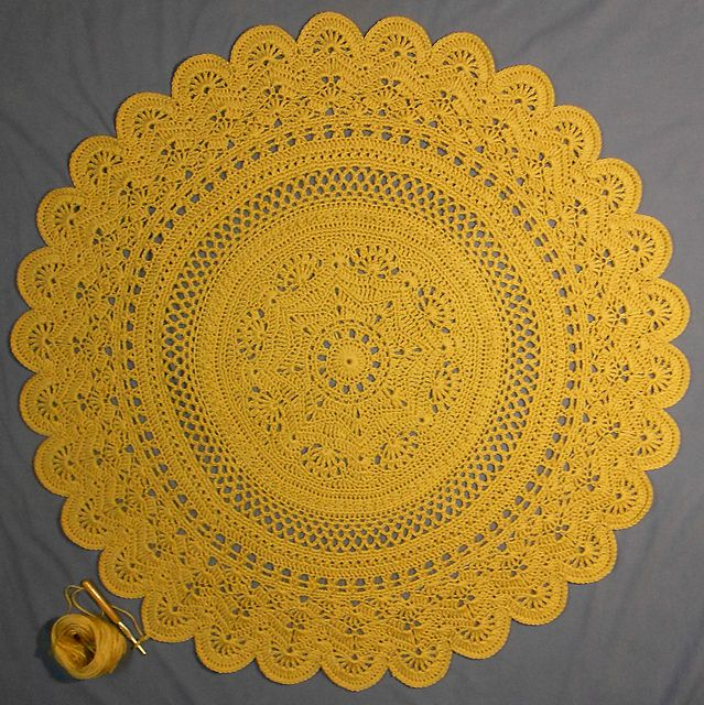 Rings of Change Crochet Doily Free Pattern