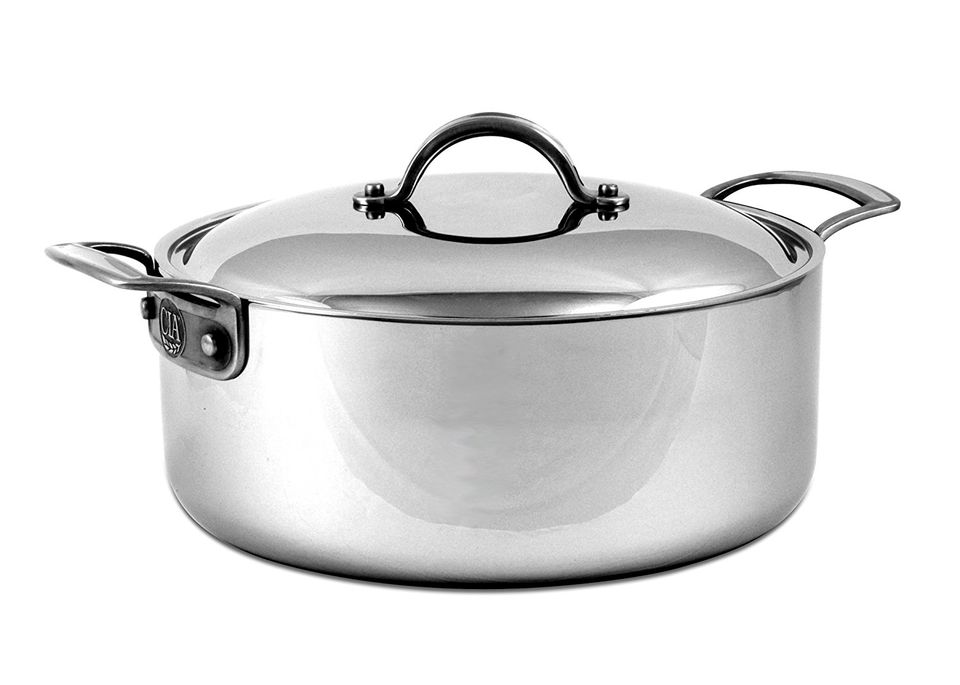 Culinary Institute of America Masters Collection 6-Quart Rondeau Pan with Cover