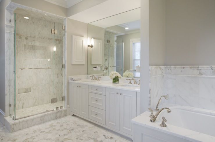 Marble Bathroom Ideas To Create A Luxurious Scheme: 17 Gorgeous Bathrooms With Marble Tile