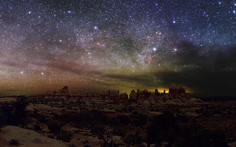 A national park is designated a dark-skies site.