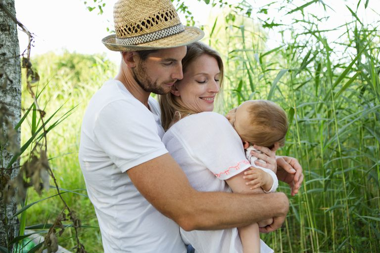Couple With Baby