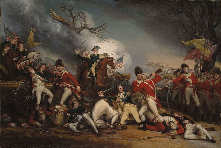 turning point of the american revolution