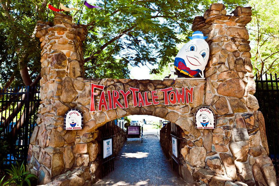 visit Fairy Tale Town on Grandparents Day