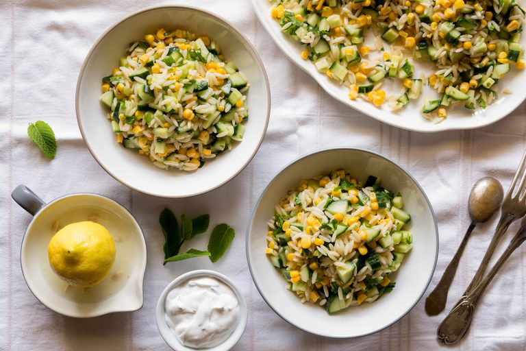 Healthy pasta salad