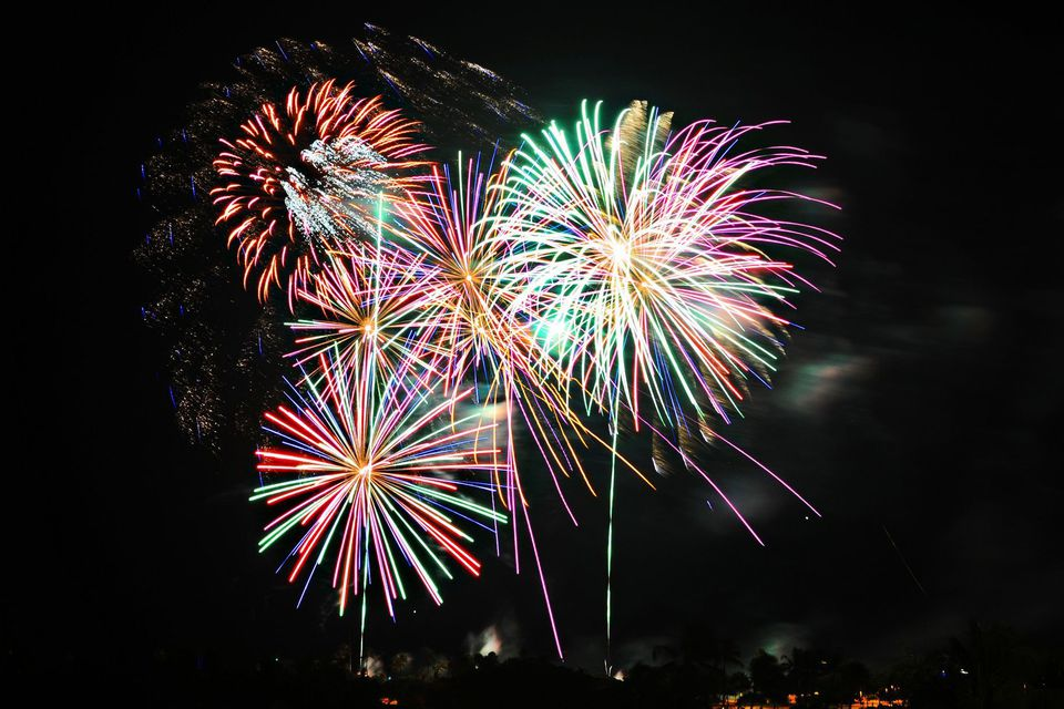 Ala Moana Center Fireworks