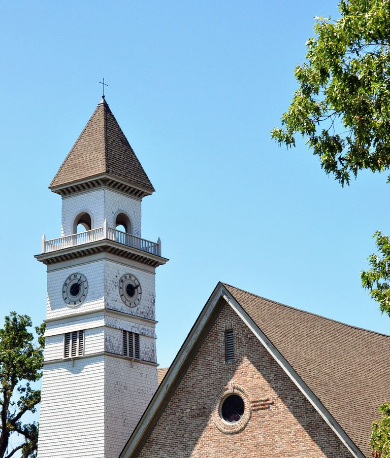 Woodworth Chapel at Tougaloo College
