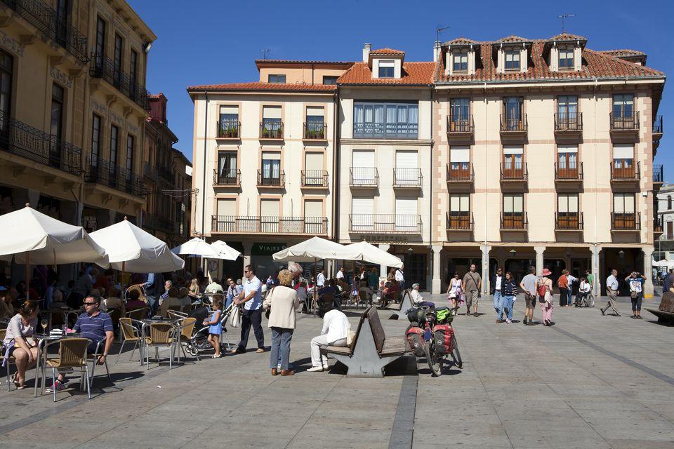 Plaza de Espana, Astorga
