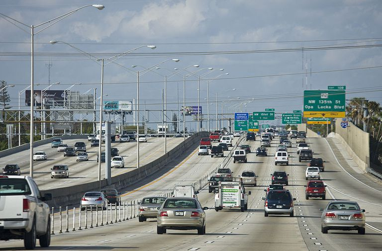 Traffic Miami, Florida, USA