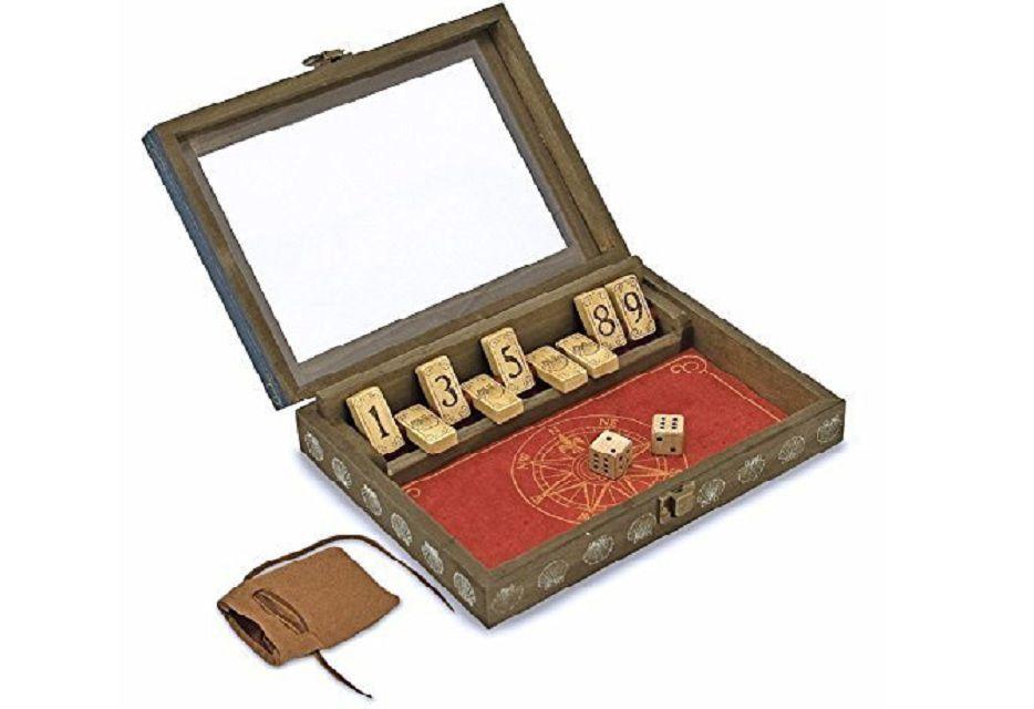shut the box game for grandchildren