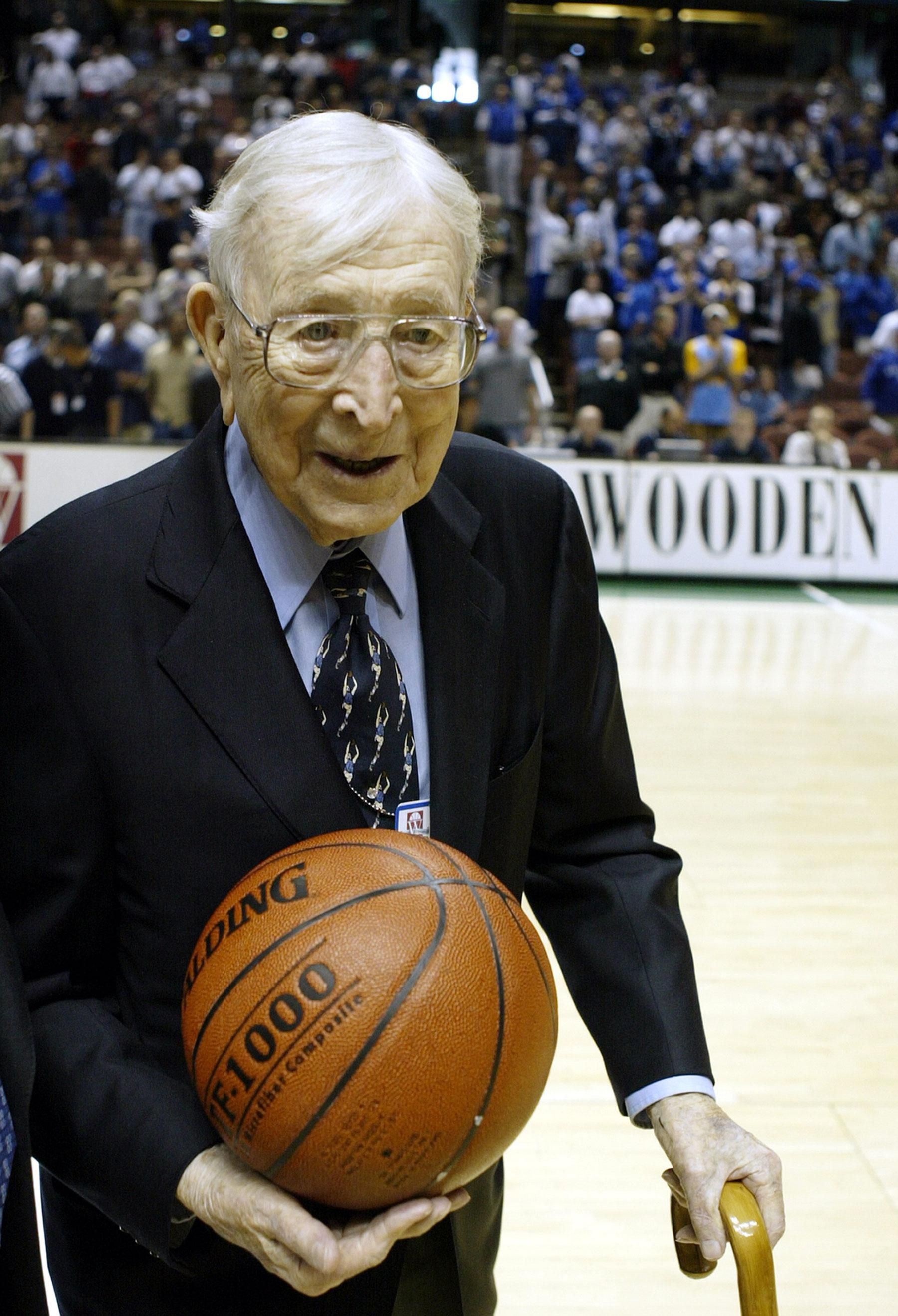 john wooden on leadership Watch video  with profound simplicity, coach john wooden redefines success and urges us all to pursue the best in ourselves in this inspiring talk he shares the advice he gave his players at ucla, quotes poetry and remembers his father's wisdom.