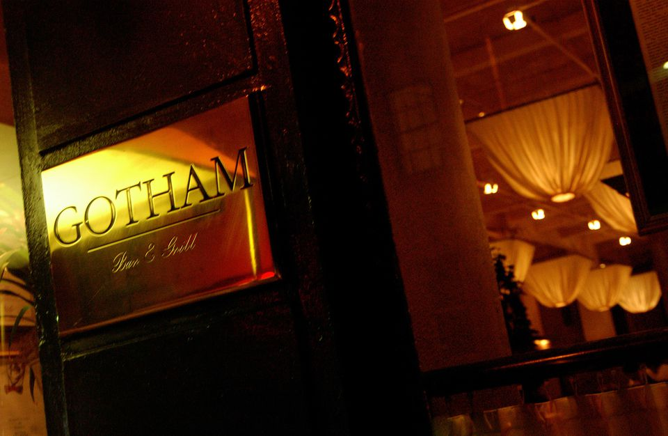 Gotham Bar and Grill, West Village.