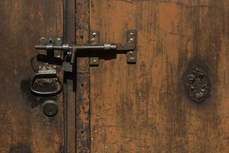 Bolt the door