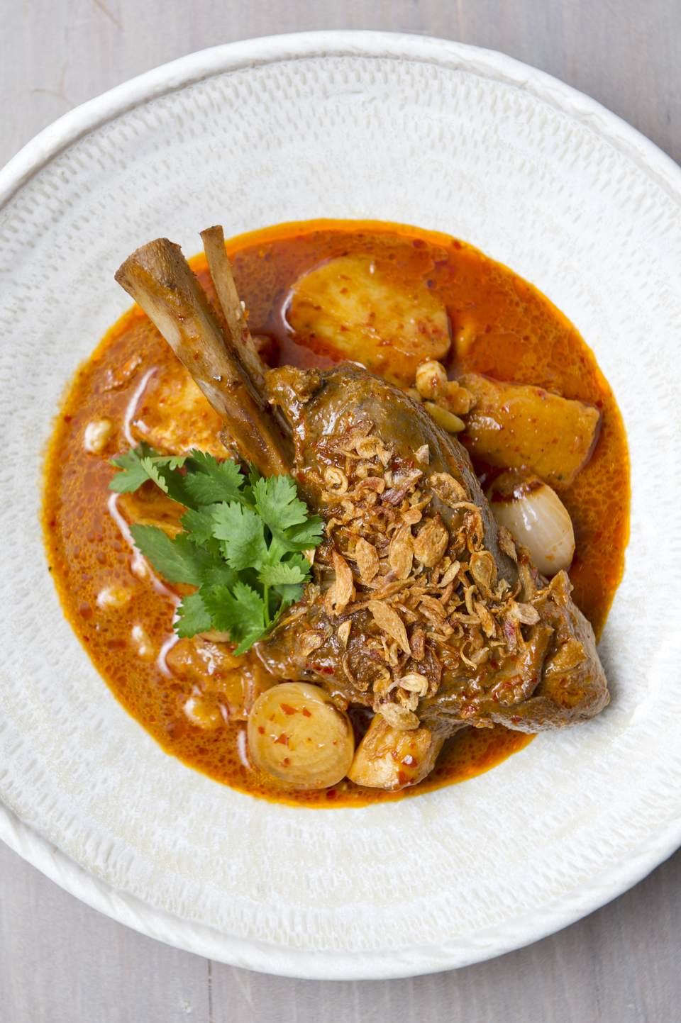 Thai Massaman Lamb Curry