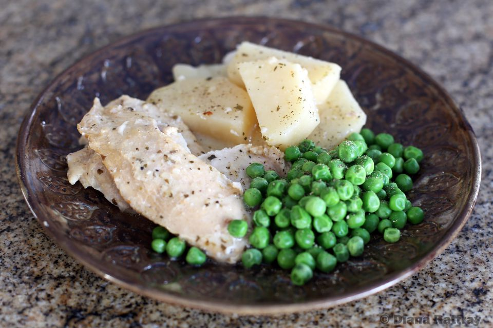 Italian Seasoned Chicken With Potatoes