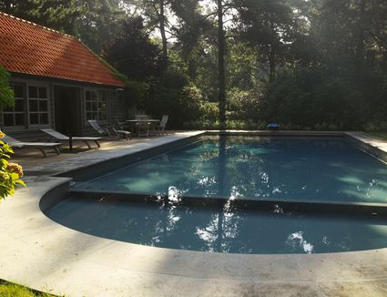 Backyard swimming pools for Swimming pool square footage calculator