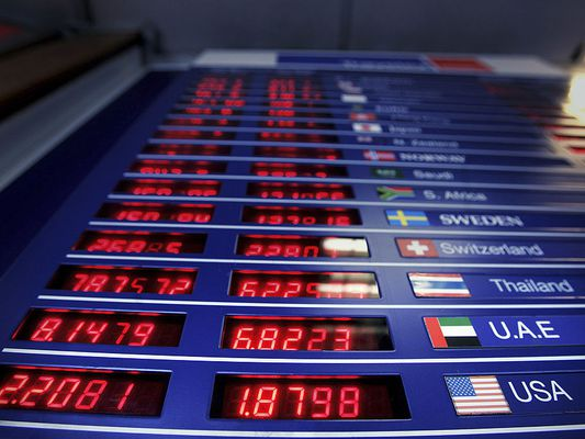 foreign currencies listed on stock exchange