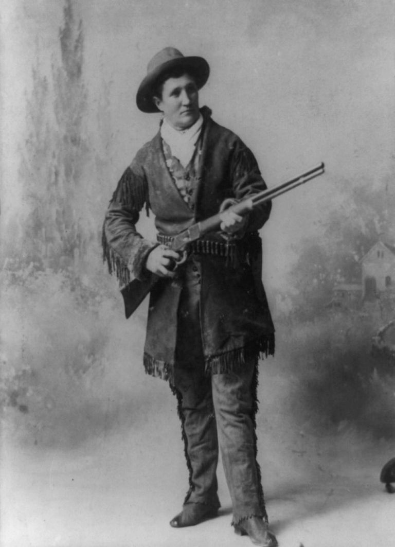 Picture of Calamity Jane, 1895