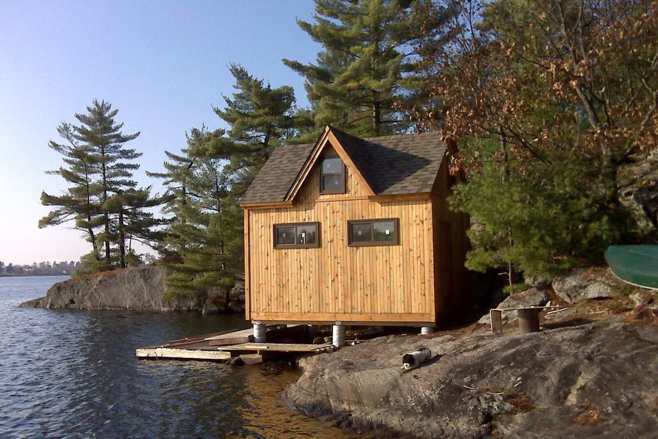 18 small cabins you can diy or buy for 300 and up for Prefab lake homes