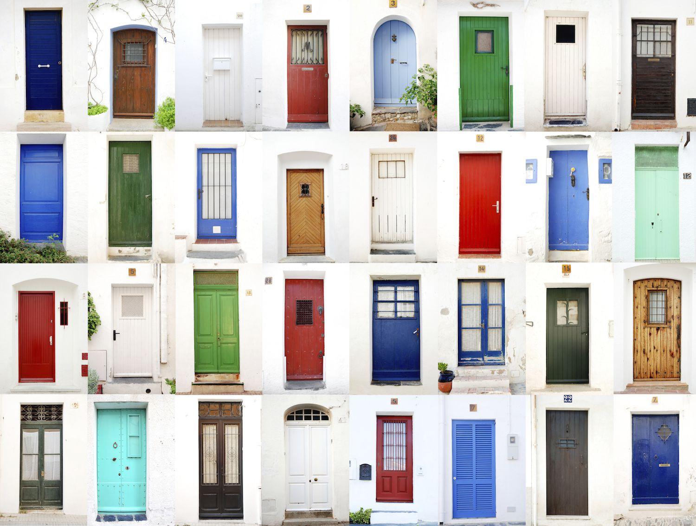 are slanted doors bad feng shui. Black Bedroom Furniture Sets. Home Design Ideas