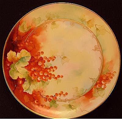 Haviland Limoges D'Arcy's Fruit Plate