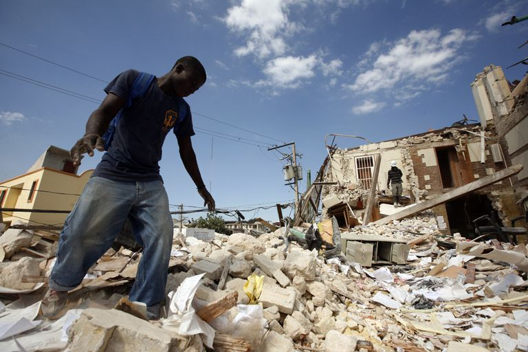 Haiti Earthquake Damage, January 2010