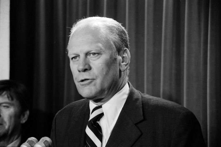 President Ford At Press Conference