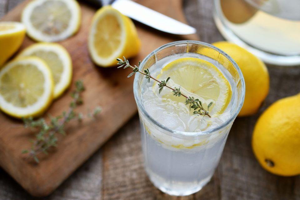 Agave lemonade