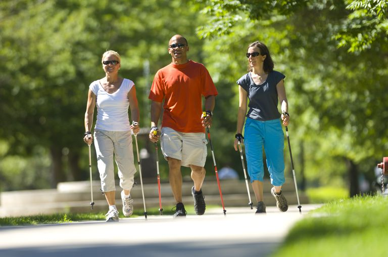 Nordic Walking Trio