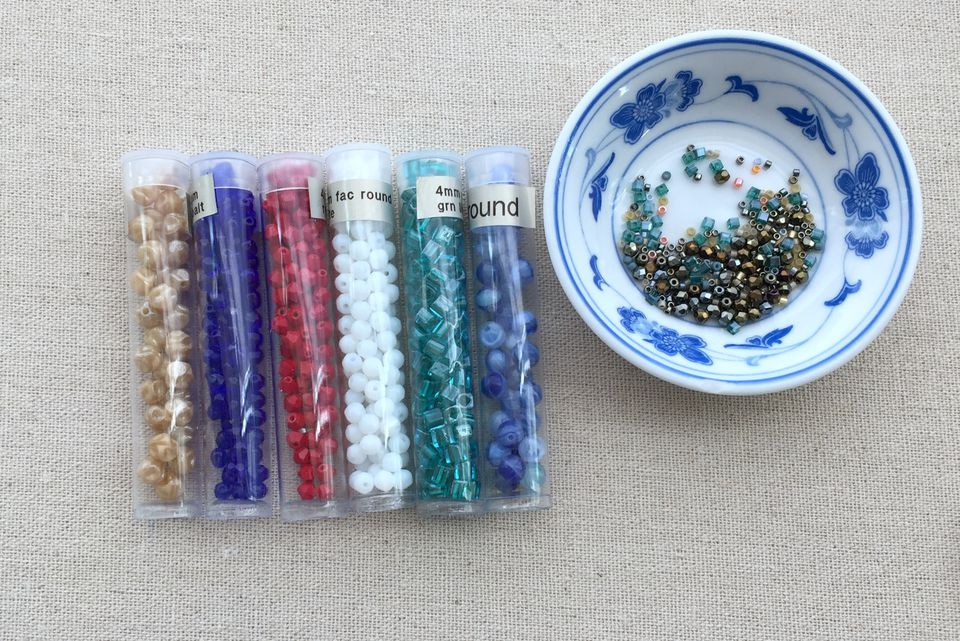 Beads in Tubes