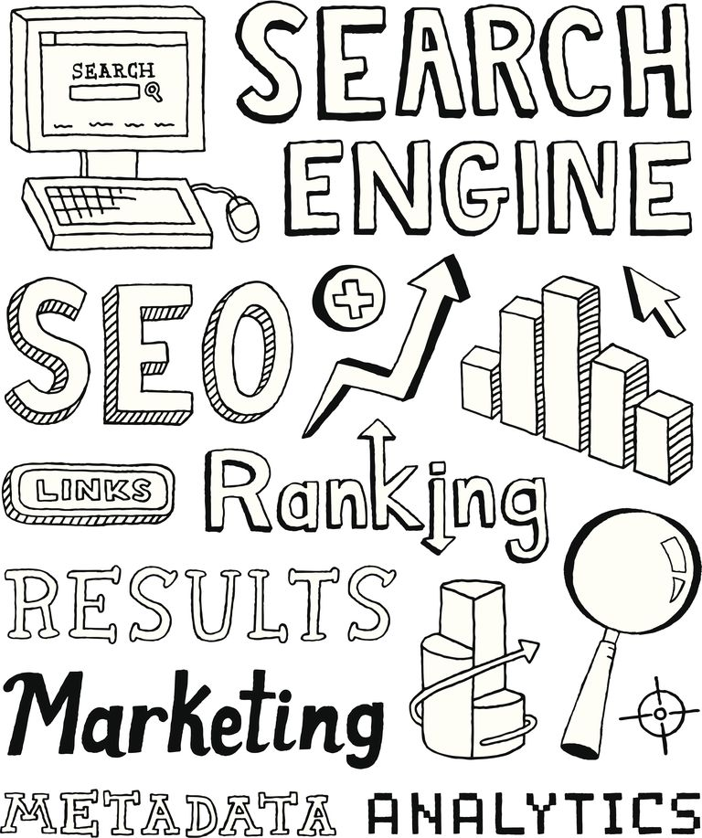 SEO Doodles - Marketing your book with SEO starts with metadata and keywords.