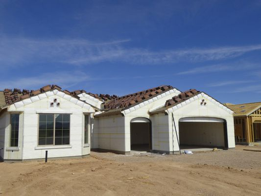 insulation of new homes being built in the desert
